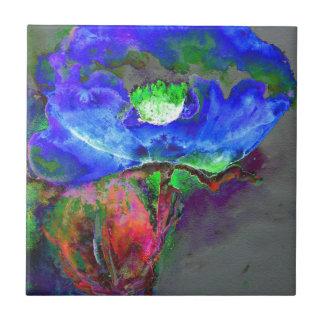 Blue Solar Poppy Tiles