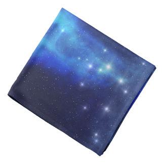 Blue Space Cloud Bandana