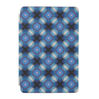 Blue Spacey Geometric iPad Mini Cover