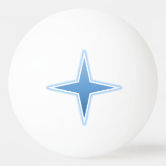 Blue Spark Ping Pong Ball