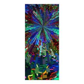 BLUE Sparkle Art  Star Planet Comet Solar Nightsky Personalised Rack Card