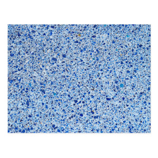 Blue Speckled Stone Gravel Texture Background Postcard
