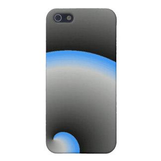 Blue Spiral iPhone 5/5S Case