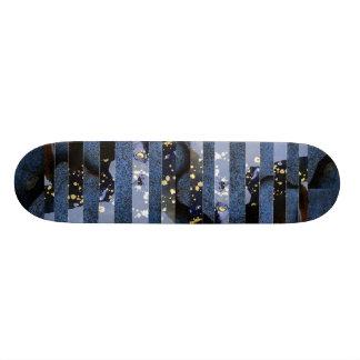 """""""Blue Splatter"""" Skate Deck"""