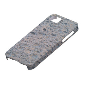 Blue sponge phone cover. iPhone 5 cover