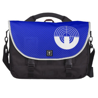 Blue Sport Shooting Laptop Bag