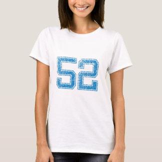 Blue Sports Jerzee Number 52 T-Shirt