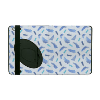 Blue Spots iPad 2/3/4 Case with Kickstand