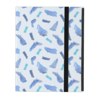 Blue Spots iPad 2/3/4 Case with No Kickstand