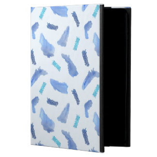 Blue Spots iPad Air 2 Case with No Kickstand