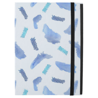 Blue Spots iPad Pro Case with No Kickstand