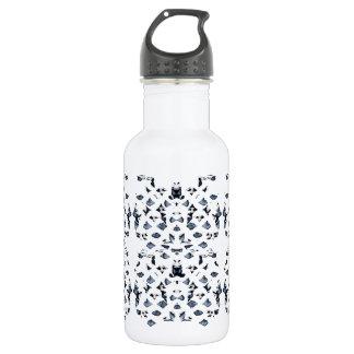 Blue Spots Water Bottle