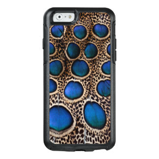Blue spotted peacock pheasant OtterBox iPhone 6/6s case