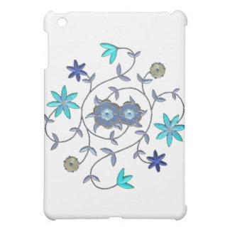 Blue Spring Flower Garden iPad Mini Cases