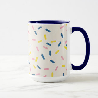 Blue Sprinkles Coffee Mug