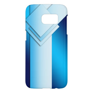 Blue Square Samsung Galaxy S7 Case