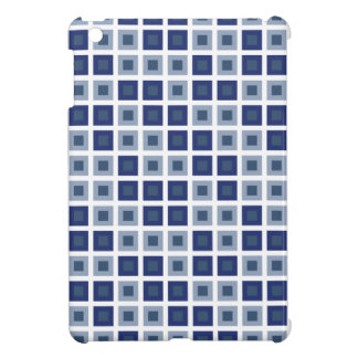 Blue Squares iPad Mini Cases