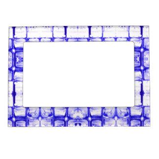 Blue Squares Magnetic Frame