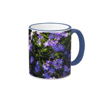 Blue Squill Spring Flowers Coffee Mug