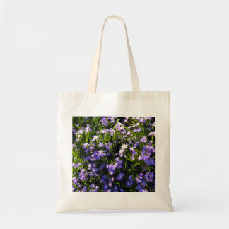 Blue Squill Spring Flowers Budget Tote Bag