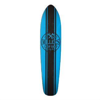 Blue SS Stripes Hot Rods Logo 21.3 Cm Mini Skateboard Deck