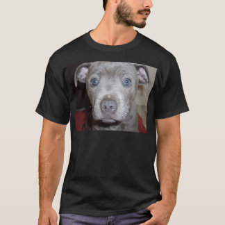 Blue Staffordshire Bull Terrier Puppy, T-Shirt