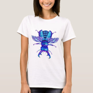 Blue Stag Beetle T-Shirt