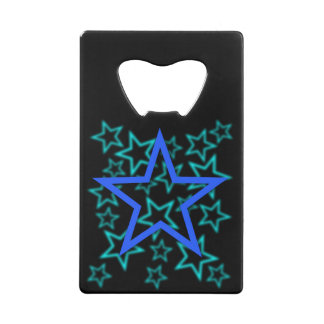 Blue Star Bottle Opener