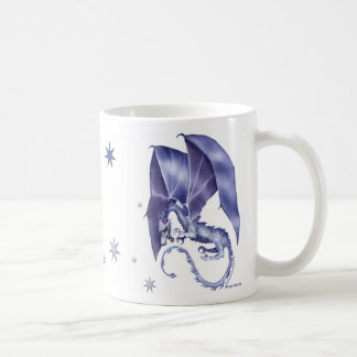 Blue Star Dragon Mug