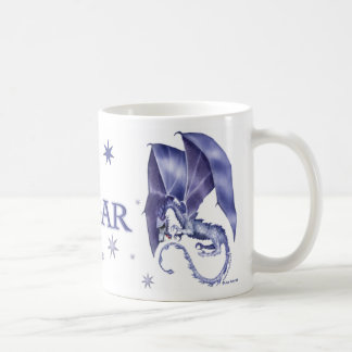Blue Star Dragon Mug for Edgar