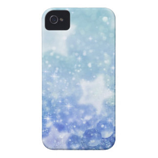 Blue star dust Blackberry Bold 9700/9780 case iPhone 4 Case