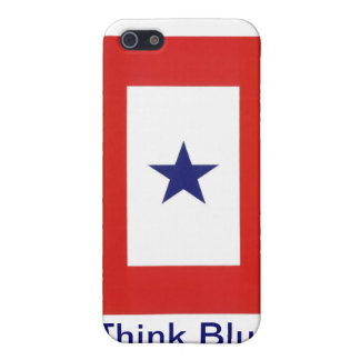 Blue Star Flag iPhone Case for iPhone 4