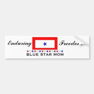 Blue Star Mom Bumper Sticker