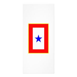 Blue Star Mother Rack Card