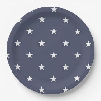 BLUE STAR Paper Plates BEALEADER 9 Inch Paper Plate