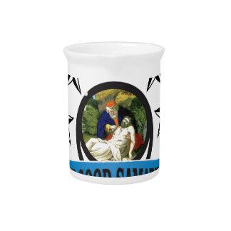 blue star samaritan pitcher