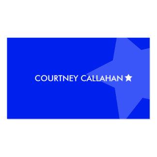 Blue star smart standard business cards