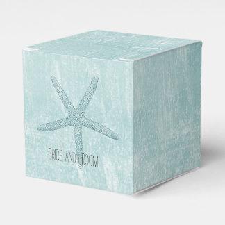 Blue Starfish Favour Box