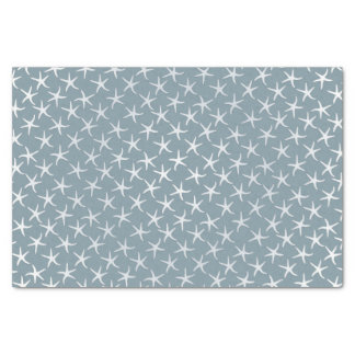 Blue Starfish Tropical Pattern Tissue Paper