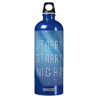 Blue Starry Night Dream Quote SIGG Traveller 1.0L Water Bottle