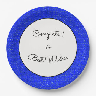 Blue-Starry-Night-Fabric(c)Congrats_Full-TEMPLATE Paper Plate