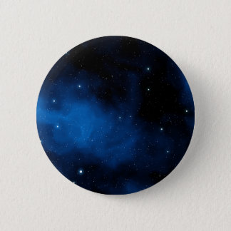 Blue Starry Sky 6 Cm Round Badge