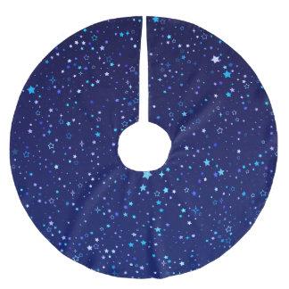 Blue Stars 2 Brushed Polyester Tree Skirt
