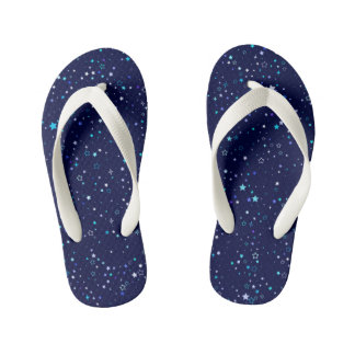 Blue Stars 2 - kids Kid's Thongs