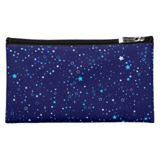 Blue Stars 2 Makeup Bag