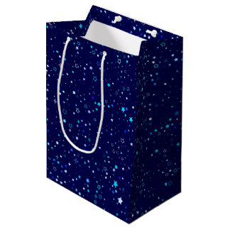 Blue Stars 2 Medium Gift Bag