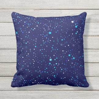 Blue Stars 2 Outdoor Cushion