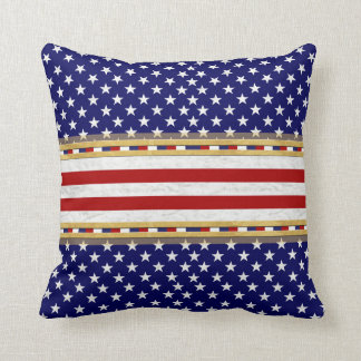Blue Stars America's Decor-Soft Pillows