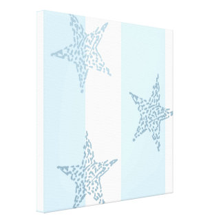 Blue Stars and Stripes Canvas Prints