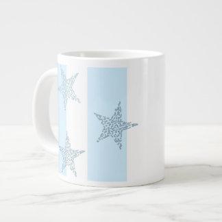 Blue Stars and Stripes Jumbo Mug